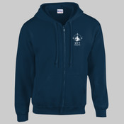 GD058 Heavy Blend™ full zip hooded